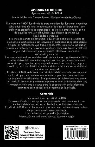 Aprendizaje dirigido EL METODO AIDHA. 02 001