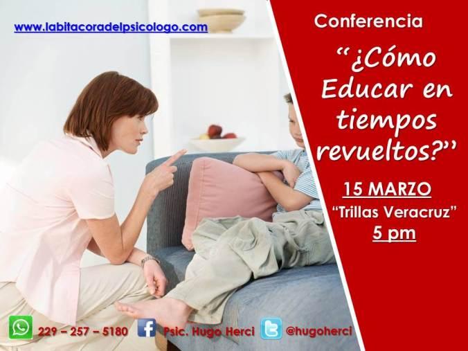 Conferencia EDUCAR EN TIEMPOS REVUELTOS3.1